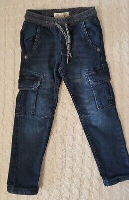 Jungen Kleinkinder Thermohose Hose Jeans Gr.104 blau online kaufen
