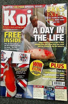 KOI MAGAZINE ~ SUMMER 2007 ~ ISSUE 110