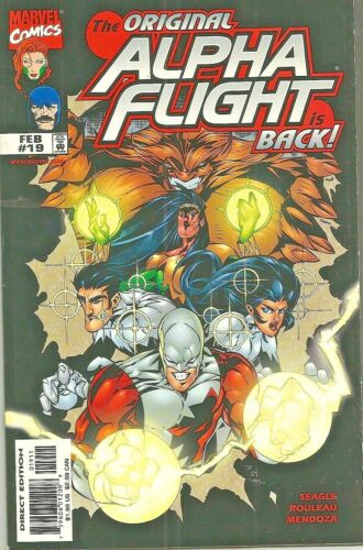 ALPHA FLIGHT VOLUME II  #19   ORIGINAL TEAM RETURNS  MARVEL  1999  NICE!!