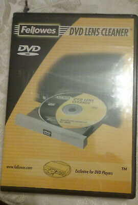 Fellowes CD/DVD Drive Lens Cleaner, sweep away dust and dirt from laser lens NEW