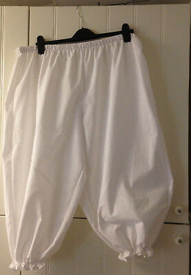 bloomers big/baggy plus size white more colours/sizes available - Big Size Kostüme