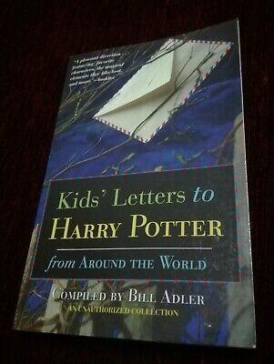 HARRY POTTER-Raro KIDS' LETTERS to HARRY POTTER - B. ADLER 2001