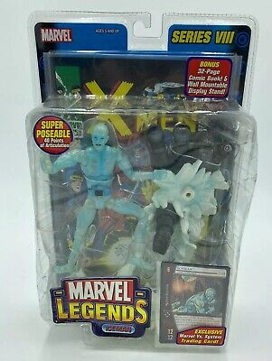 Marvel Legends Series 8 Iceman Super Poseable New in Box NIB 2004