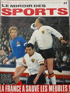 Le miroir des sports n 1208 1967 football france for Le miroir des sports
