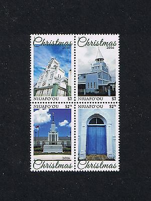 Niuafo'ou 2016 Christmas Postage Stamp Issue