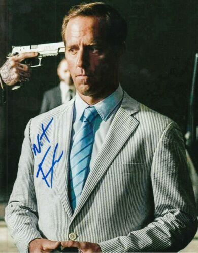 NAT FAXON signed (NARCOS MEXICO) Autographed 8X10 photo *PROOF* W/COA
