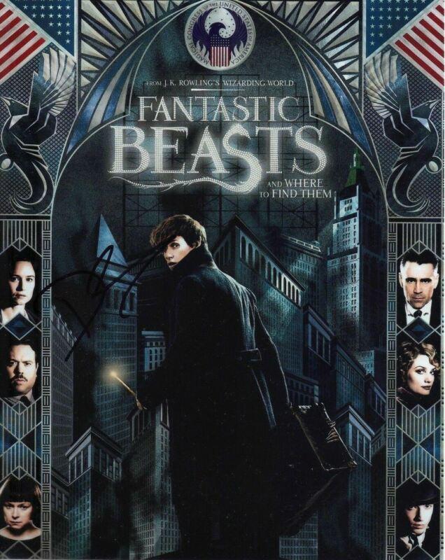 David Yates Signed 10X8 Photo Fantastic Beasts & Where to Find Them COA (5133)