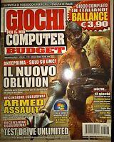 Rivista Videogiochi Giochi Per Il Mio Computer Budget N. 126 Febbraio 2007 Gpmc - budget - ebay.it