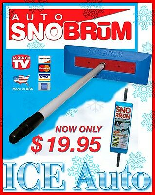 SNO BRUM Snow Broom Rake w/ 27