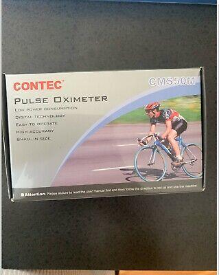 Contec Pusle Oximeter Cms50m New In Box