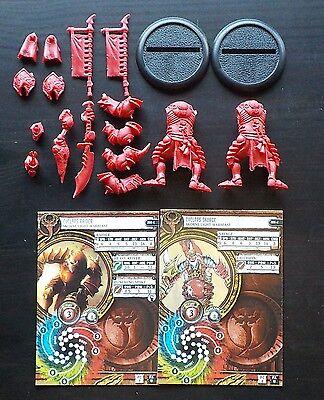 Hordes Skorne Warbeasts Cyclops Savage And Raider - Privateer Press - Warmachine