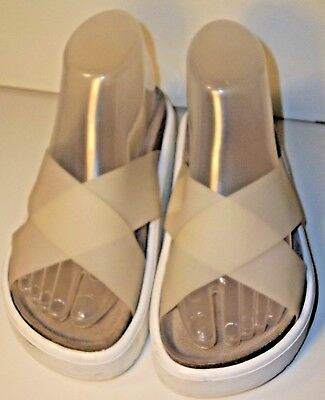 Yes Wos Shoes Megacross 2.0 Frosted EU 36 US 6 Slides Sandals Platform UO 5610