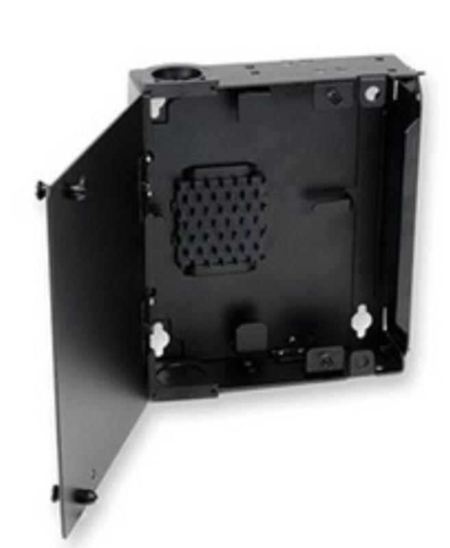 Single-Panel Housing wallmount holds 1 CCH connector panel SPH-01P Corning Fiber