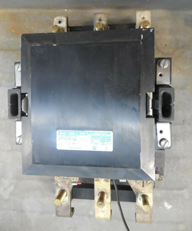 Gould Magnetic AC Contactor A103G Size Sz 5 200 HP 600VAC 300 Amp 3PH 480V Used