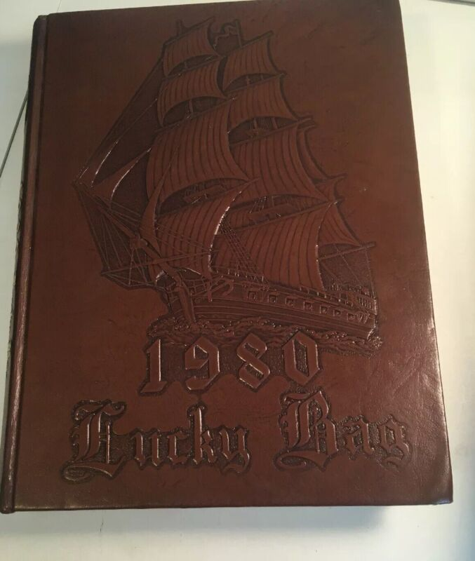 Naval Academy Yearbook U.S. 1980 Lucky Bag Military
