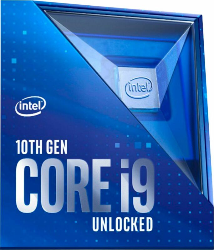 Intel - Core i9-10900K 10th Generation 10-core - 20-Thread - 3.7 GHz (5.3 GHz...