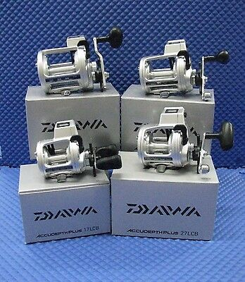 Daiwa AccuDepth Plus B Line Counter Trolling Reels CHOOSE YOUR MODEL! Daiwa Line Counter Reels