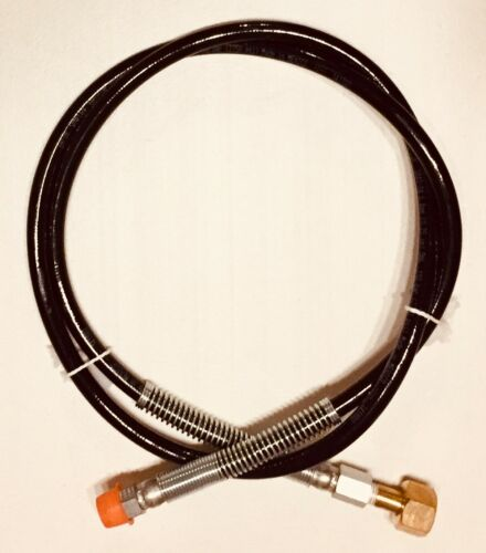 "Eaton Synflex Gas-Lok High Pressure CO2 Regulator 1/4"" ID Hose 2750 PSI 3440-04"