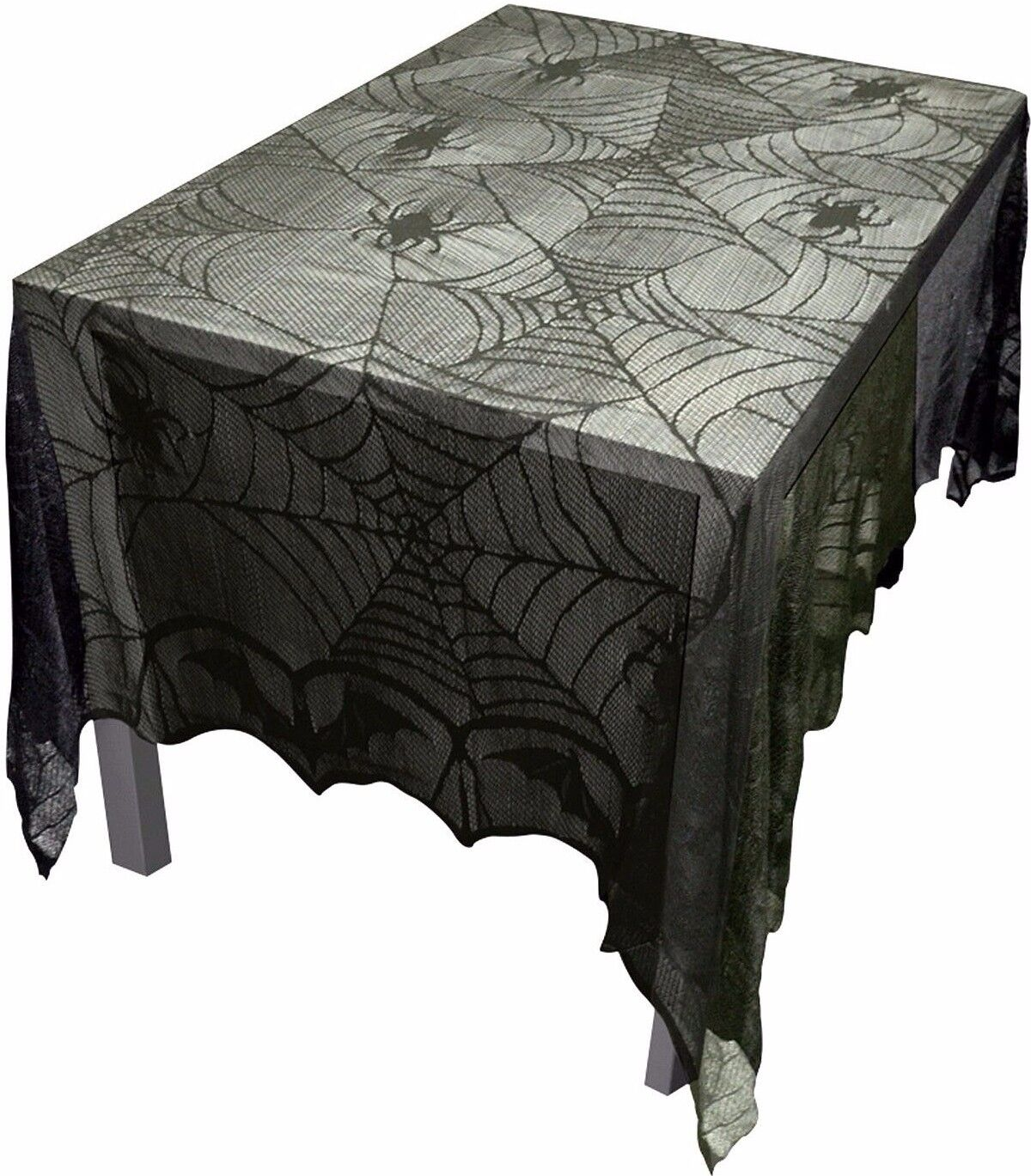 USA Lace~Frightful Halloween Pennant Banner Party Decor Mantel Scarf Swag Runner