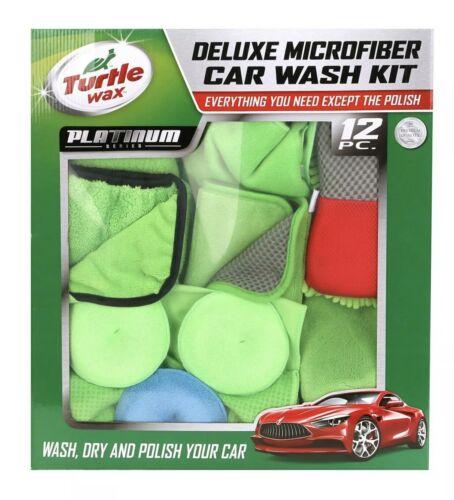 TURTLE WAX Complete Car Wash Kit 12 Piece Deluxe Microfiber