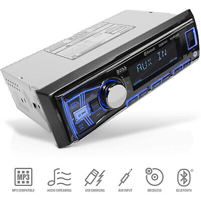 boss 611uab single din usb sd aux