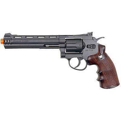 400 FPS WG 357 MAGNUM CO2 GAS METAL AIRSOFT REVOLVER PISTOL GUN w/ 6mm BB BBs  for sale  Morton Grove