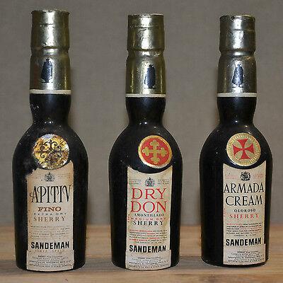 3 mignon Sherry (APITIV fino, DRY DON amontillado, ARMADA CREAM oloros) (rif.25)