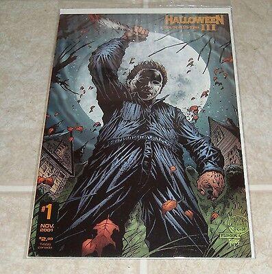 Devil Eyes Halloween (Halloween III The Devil's Eyes #1 Variant Edition 1st Print Michael Myers)