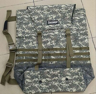 TRASHAROO Off-Road Canvas Bag, DIGI CAMO - Gen 2, Easily Attaches to Spare Tire