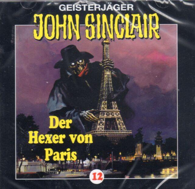 JOHN SINCLAIR - Teil 12 - Der Hexer von Paris - AUDIO CD - NEU OVP