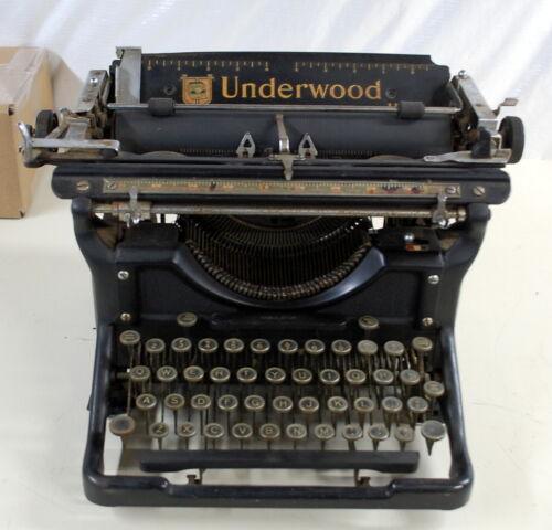 Rare Underwood Model 11 Typewriter