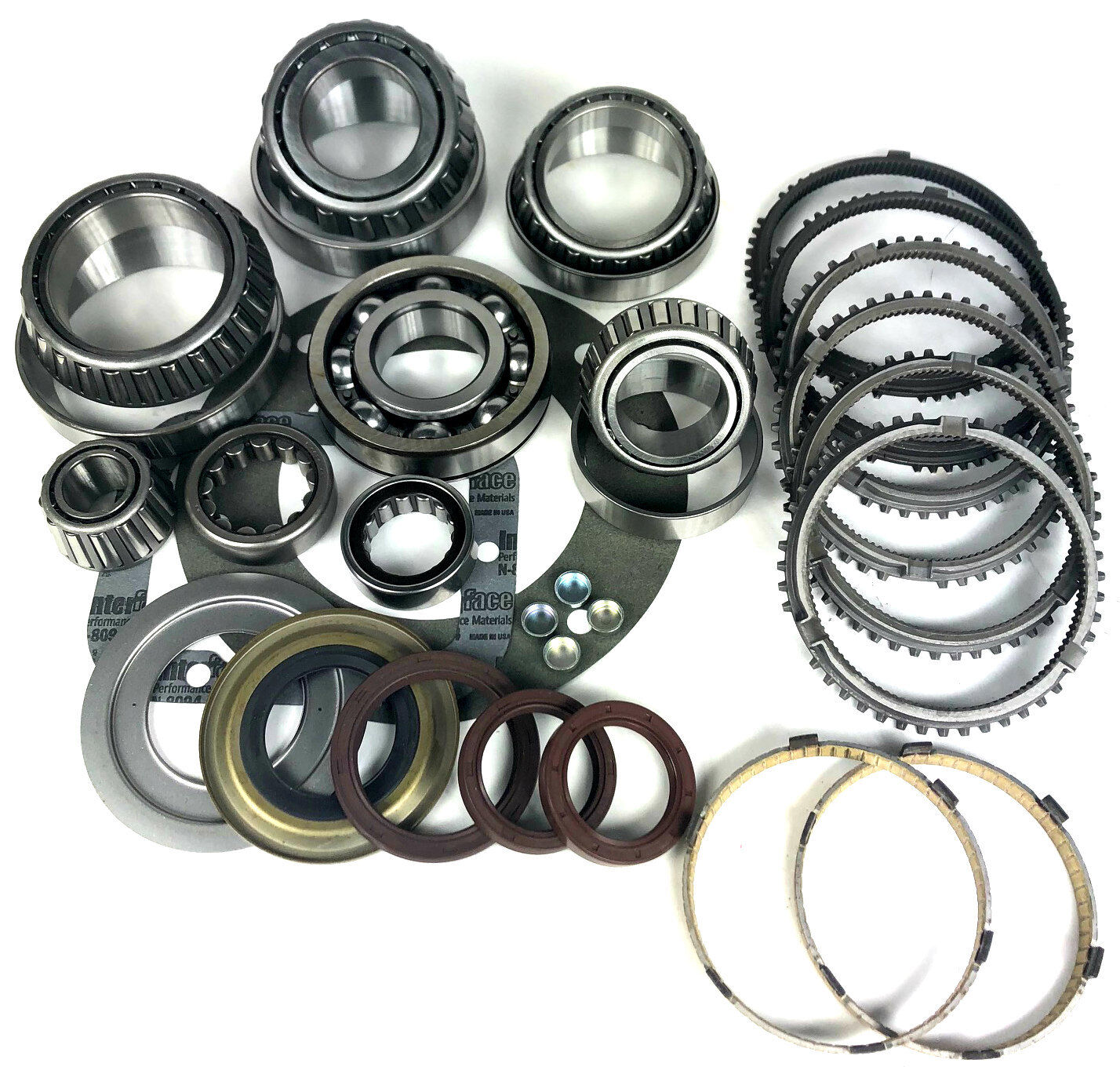 Ford ZF S6-650 6 Speed Transmission Rebuild Kit with Synchro Rings
