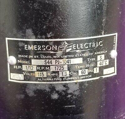 IRONRITE Iron/Mangle Parts-  Emerson electric motor S44 PJ-1041