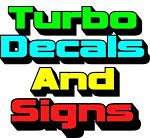 Turbo Decals And Signs