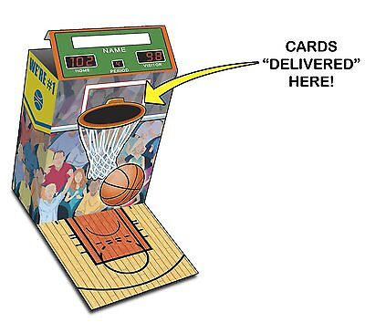 Lot of 24 Pieces - Basketball Valentine Mailboxes – Children's Party Favor