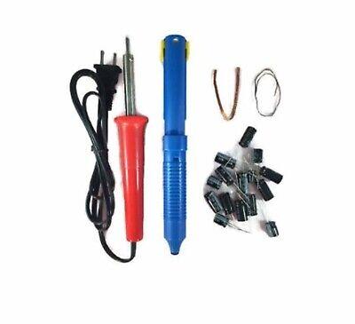Sanyo Dp32647 Lcd Tv Monitor Capacitor Repair Kit W Solder Iron