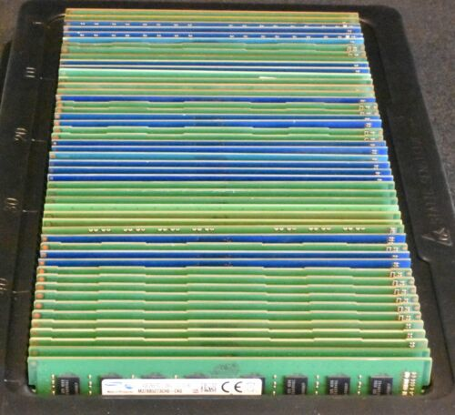 Lot of 50 - Mix of used 4GB DDR3 PC3-10600U / PC3-12800U Desktop Memory Modules