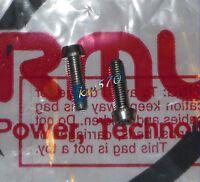 Formula - 2 Viti Argento/silver Originali X Collarino/clamp Rx - -  - ebay.it