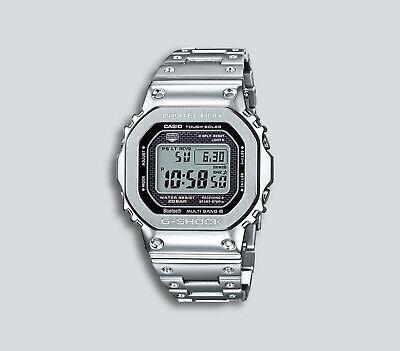 Authentic Men's G-Shock Casio Digital Stainless Steel Watch GMWB5000D-1