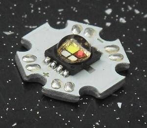 Cree XLamp MC-E RGBW LED Emitter 4-Chip Star PCB Board