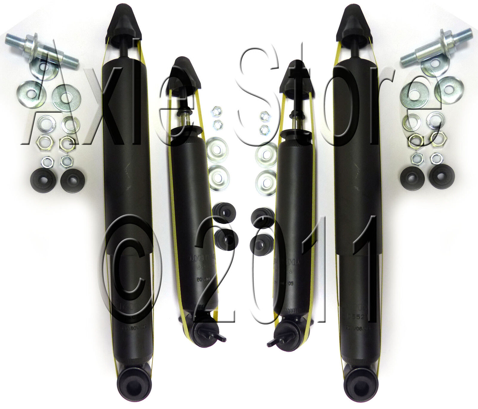 4 Shock Absorbers Strut Assemblies 83-02 Police Car & Taxi, Full Set 40152 on Sale