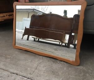 Antique & Vintage French Provincial Head/foot boards&mirrors