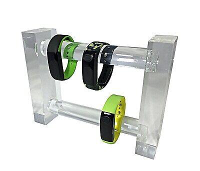 Black Acrylic Plexiglass Bracelet Watch Jewelry Stand Display 11620-14