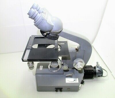 Olympus Binocular Microscope With Four Place Turret
