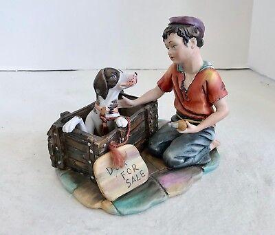Gino Dog For Sale Boys Best Friend Figurine 2856