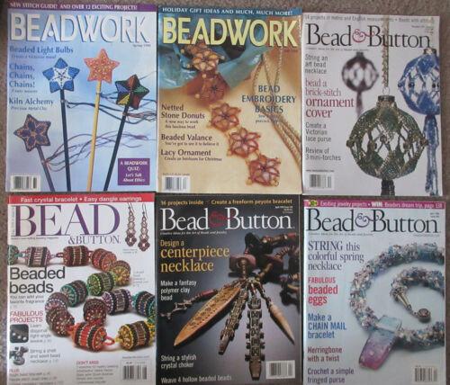 6 Beading Magazine 4 Bead & Button 2 Beadwork
