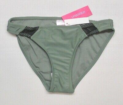 - Womens ARMY GREEN w/ INSERT Hipster Swim Bikini Bottom by Xhilaration ANY SIZE
