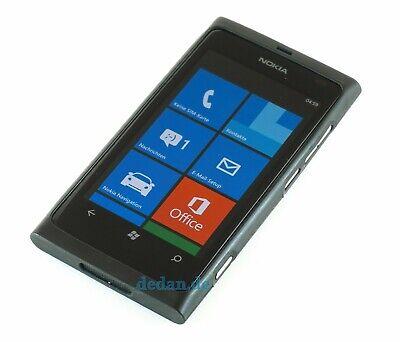 NOKIA Lumia 800, schwarz TOP, Foto, używany na sprzedaż  Wysyłka do Poland