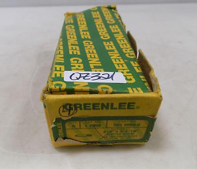 Greenlee 34 X 3-316 Adapter Screw 6 In Box 501 2098.0 Nib