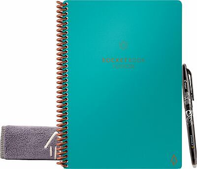 Rocket Innovations - Fusion 6.0 X 8.8 Smart Notebook - Teal